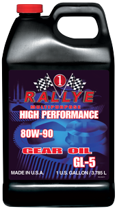 Rallye Multipurpose High Performance 80W-90 Gear Oil GL-5